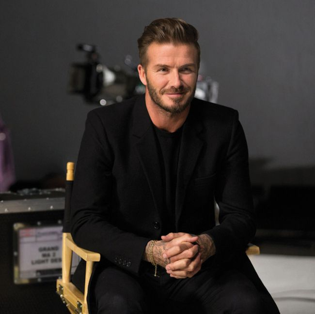 David Beckham goes shirtless in new fragrance campaign
