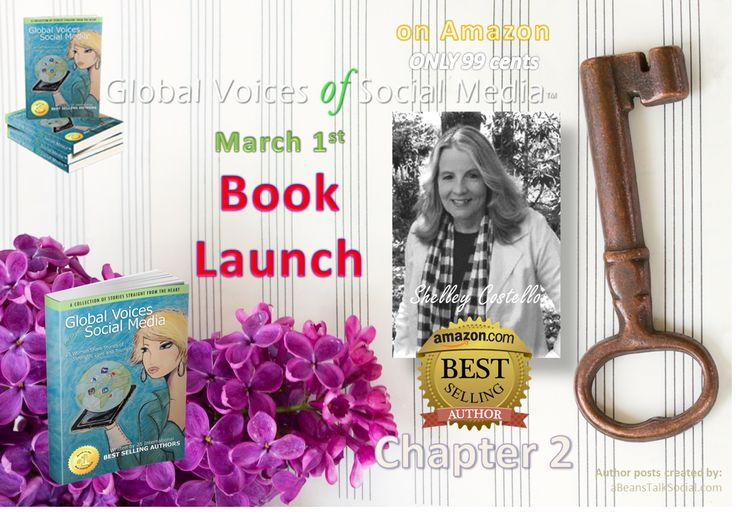 Did you know 'Simple, Timeless Social Media Insights' in Chapter 2 by Shelley Costello have inspired others to change? Global Voices of Social Media ™ is available throughout #WomensInternationalMonth for only 99 cents on Amazon.