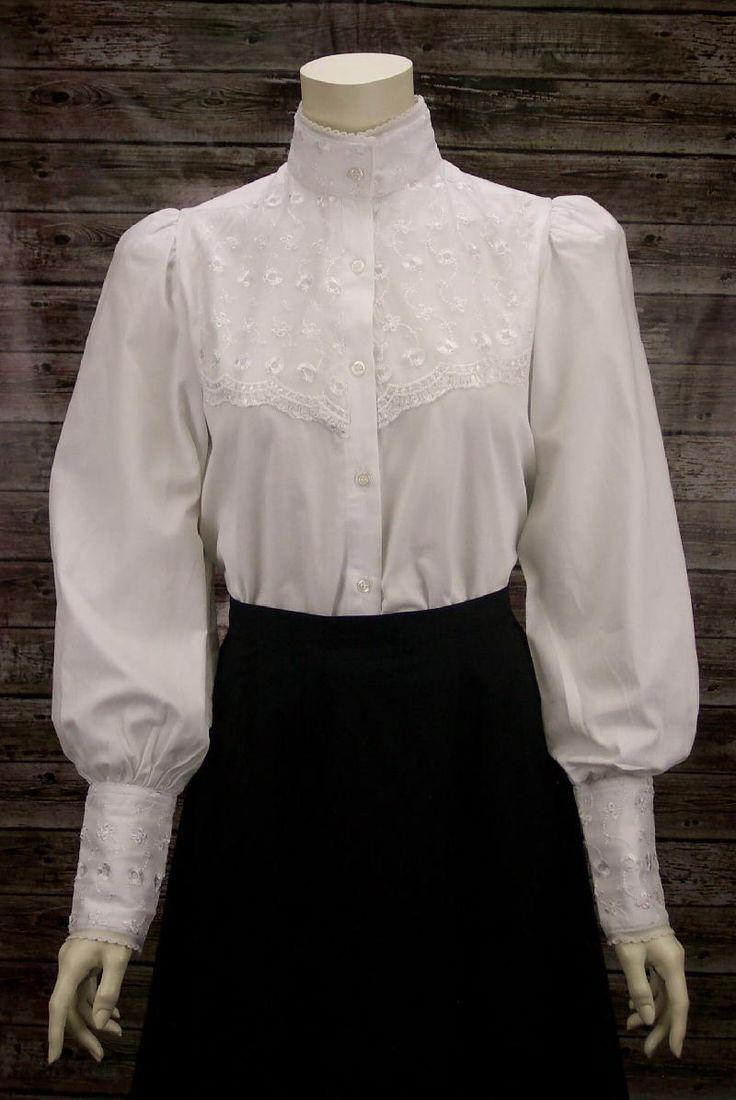 Women S White Silk Shirt