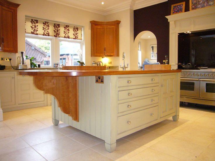 bespoke kitchen island kitchen islands pinterest