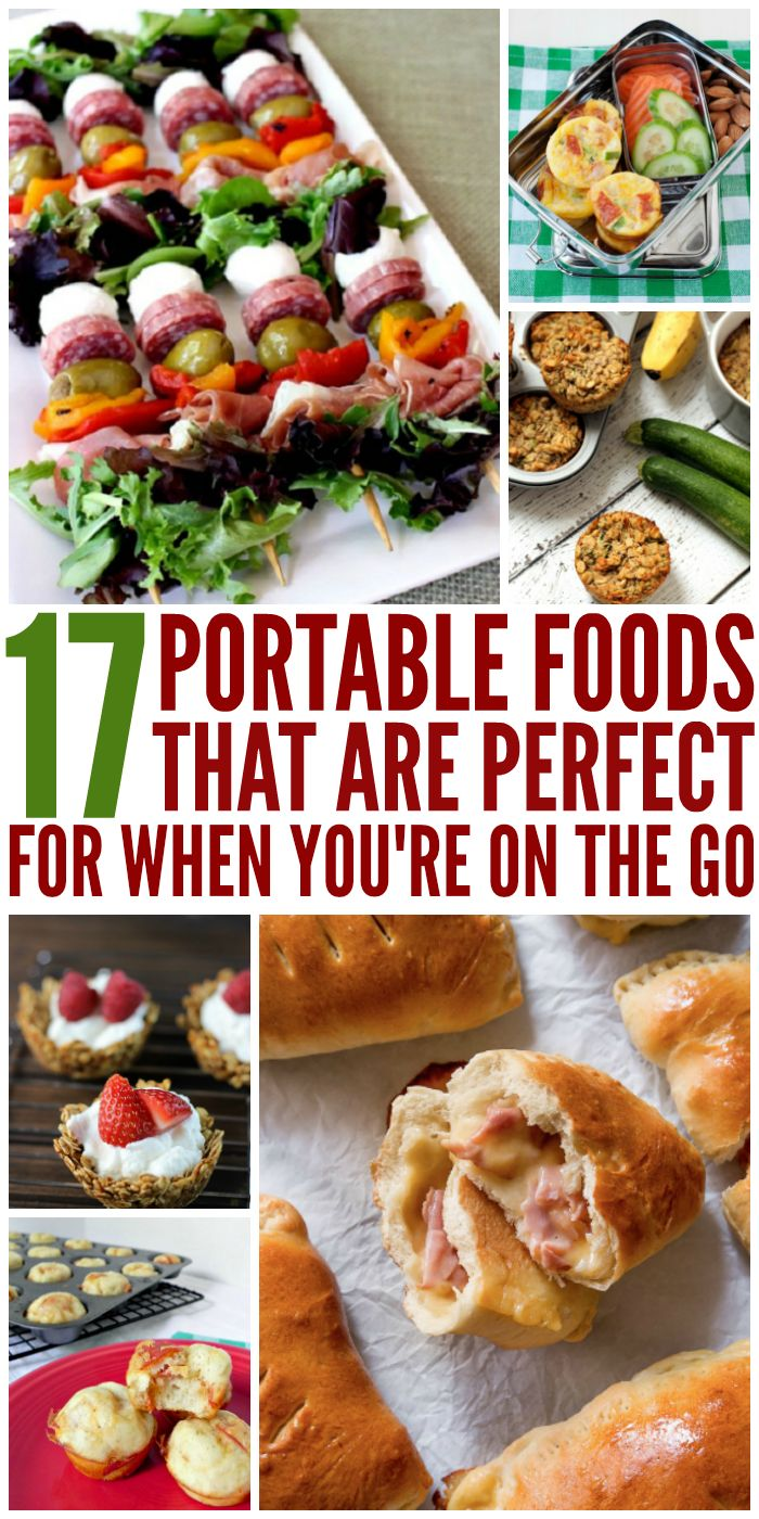 These on the go foods are perfect for my busy schedule!- One Crazy House