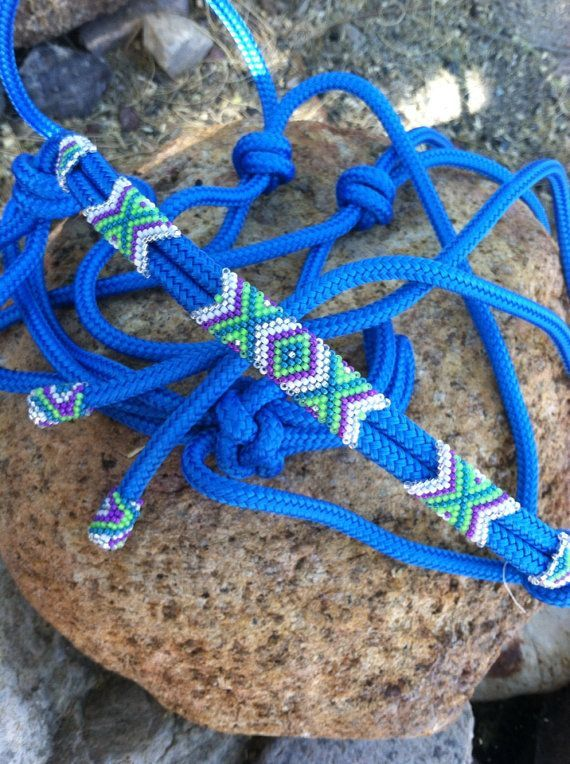 how to make a rope halter bitless bridle