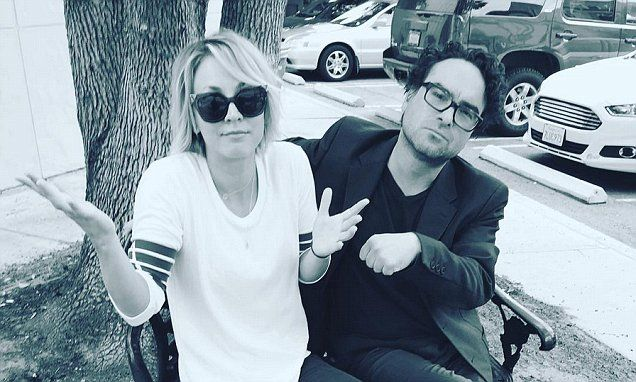 Kaley Cuoco & Johnny Galecki slam rumours the on-air lovers are dating