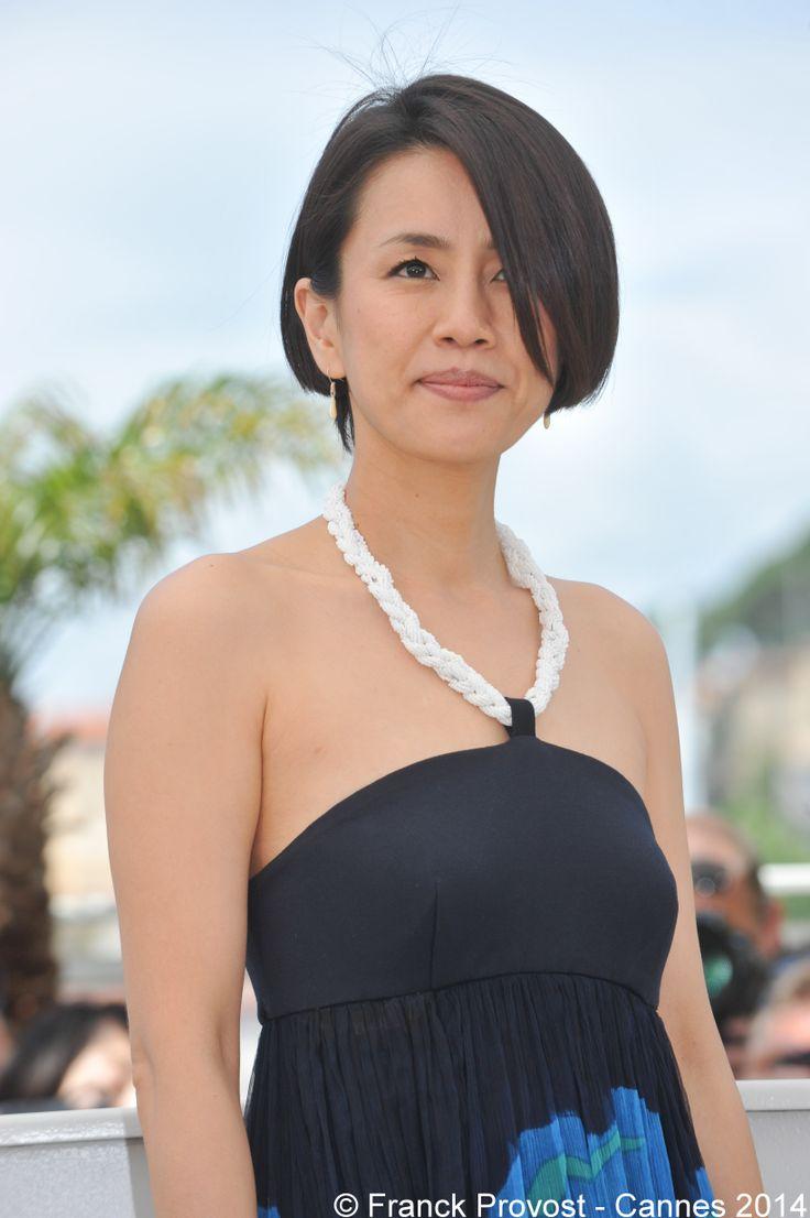 La comédienne Wakiko Watanabe pour le film Still the Water en Compétition Officielle. #Festival #Cannes #Croisette #Hair #FranckProvost #Glamour #Cannes2014 #FPCannes2014