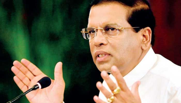 by Lacille De Silva  President Maithripala Sirisena, in a recent hard-hitting speech, denounced the decision made by the Commission to In...