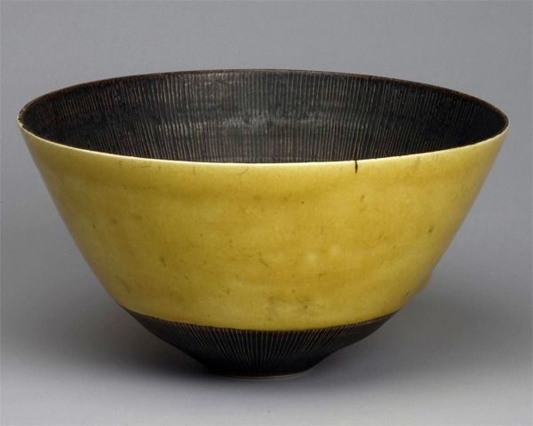 Lucie Rie : 黄釉鉢   Sumally