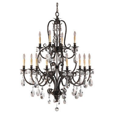 12 light chandelier   Salon Maison Collection  Product #: F2229/8+4ATS