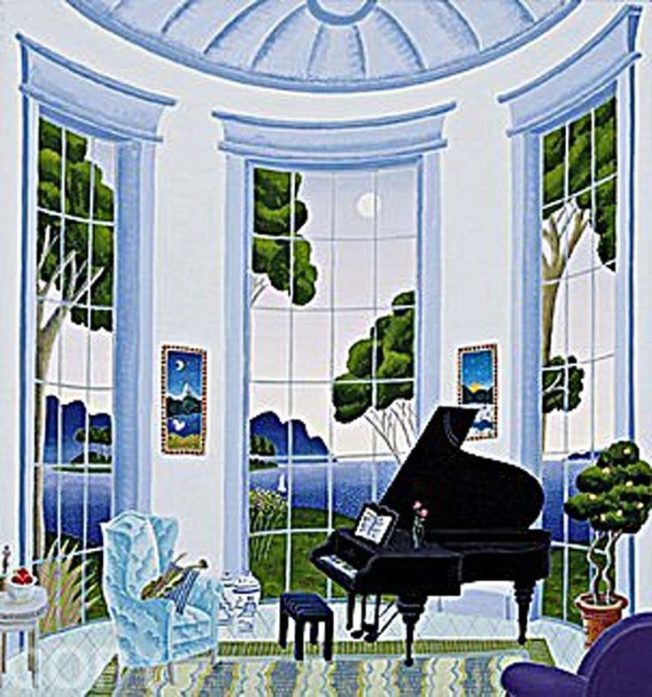 """Swan Lake-Grand Piano"" Thomas McKnight"