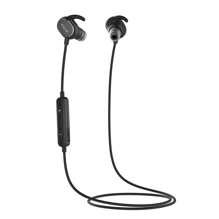 IPX4 Sweatproof In-Ear Aptx Noise Cancelling Headset for Iphone Samsung Xiaomi Smartphones