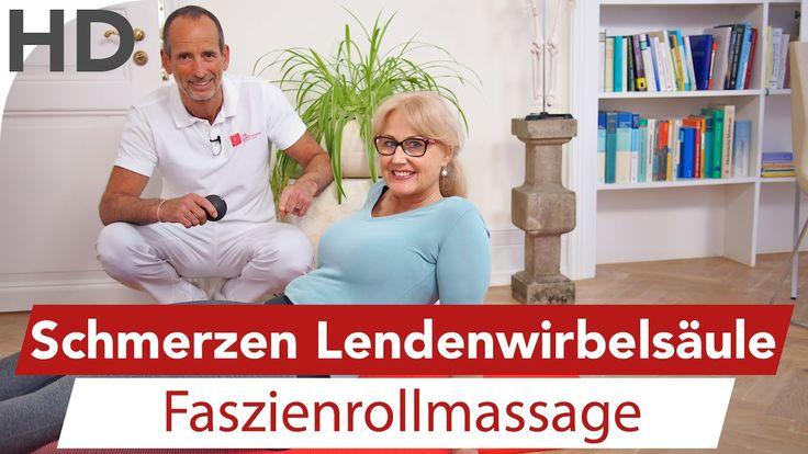 LWS Schmerzen Faszienrollmassage // Rückenschmerzen, Rückenübungen, Lend...