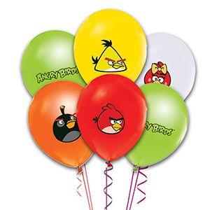 Angry Birds Latex Balon, parti balonları