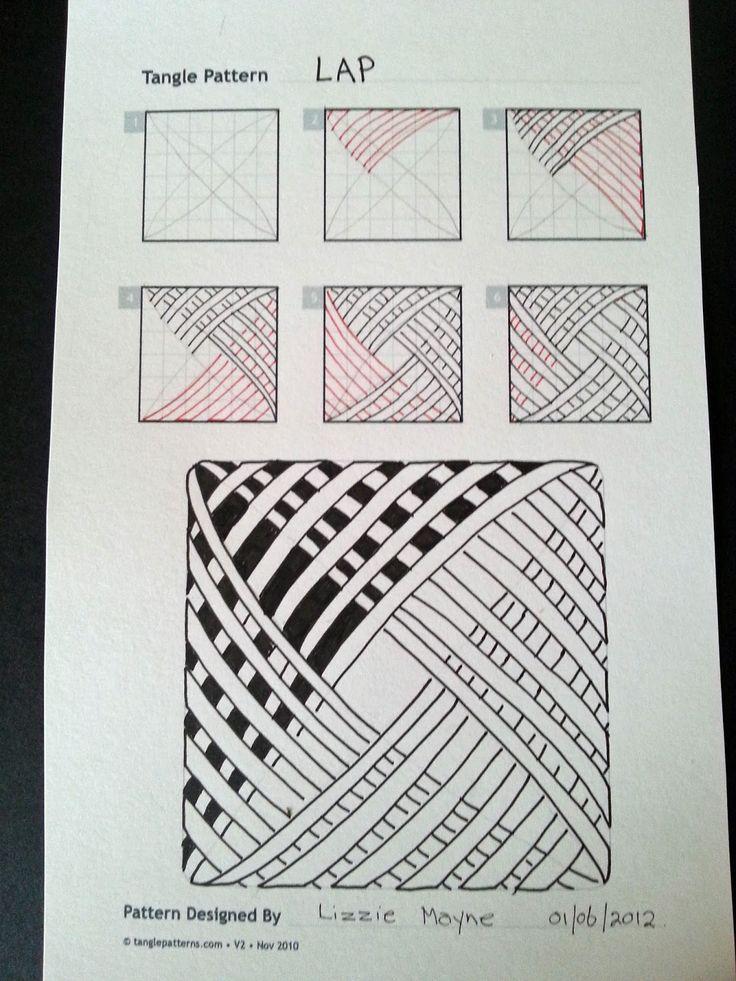 De Judy Zentangle Creaciones: Patrones Zentangle