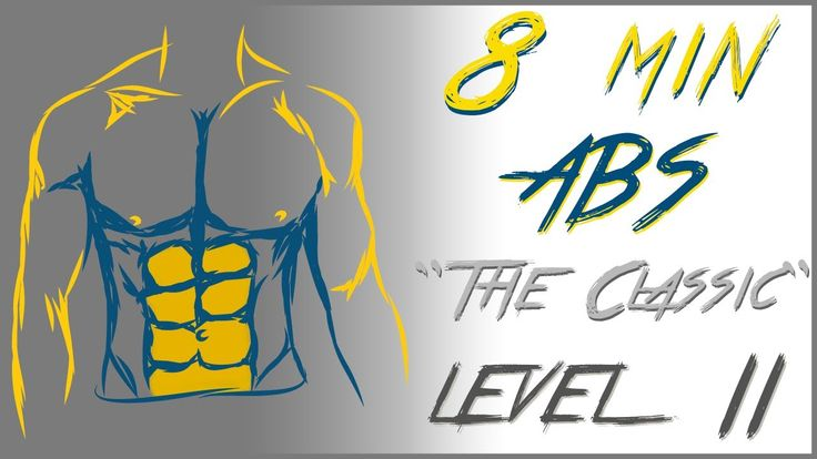 29DEC13 8 Min Abs Level 2.  I enjoy doing basic workouts cuz they are effective.  These videos made by P4P are perfect for beginner level but tough enough for advance level.  These routines will target all those trouble areas of your body.