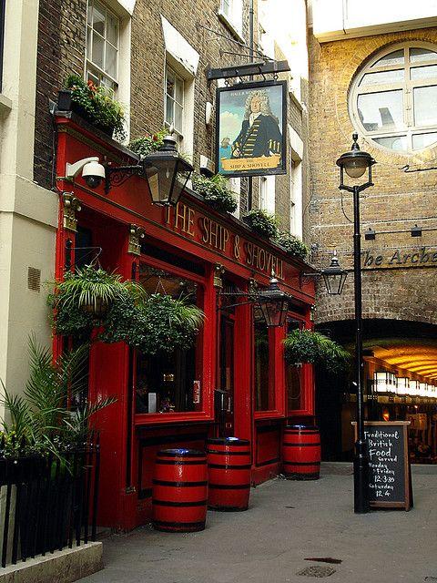 Ship and Shovell - Charing Cross, London.  ASPEN CREEK TRAVEL - mailto:karen@aspe...
