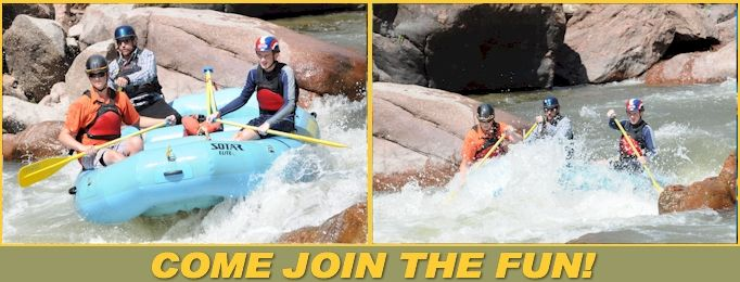 Clear Creek Rafting Photos