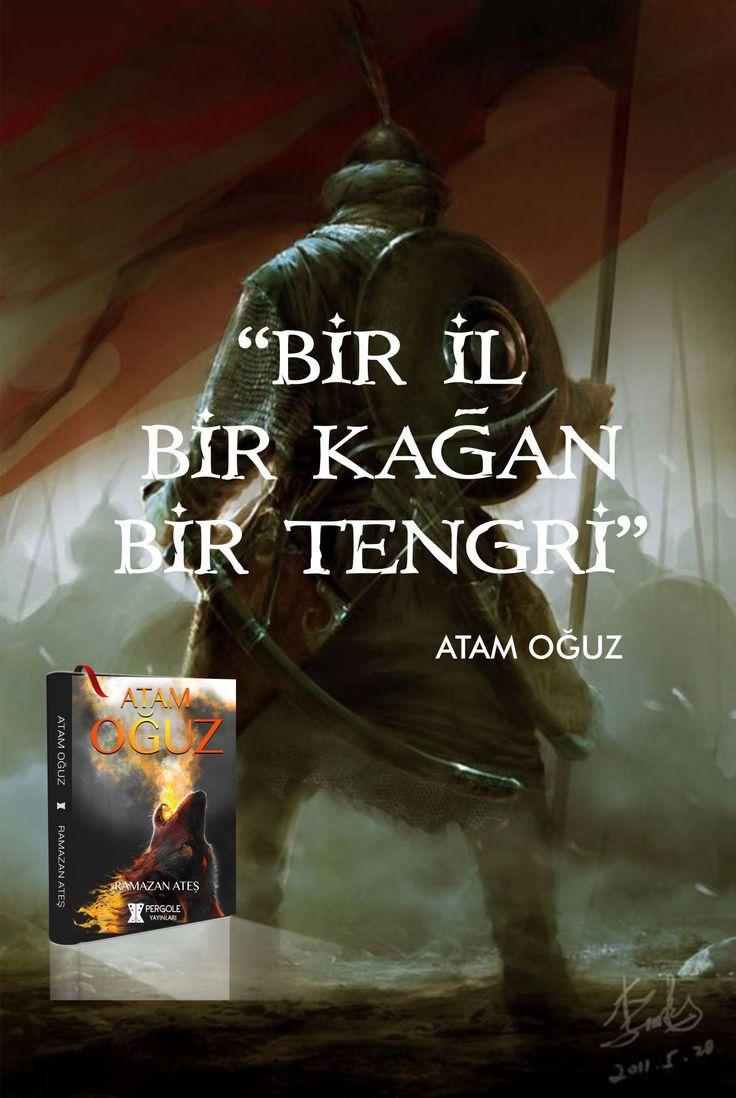 Türk tarihi roman atam oğuz kağan - Kitap tanıtım