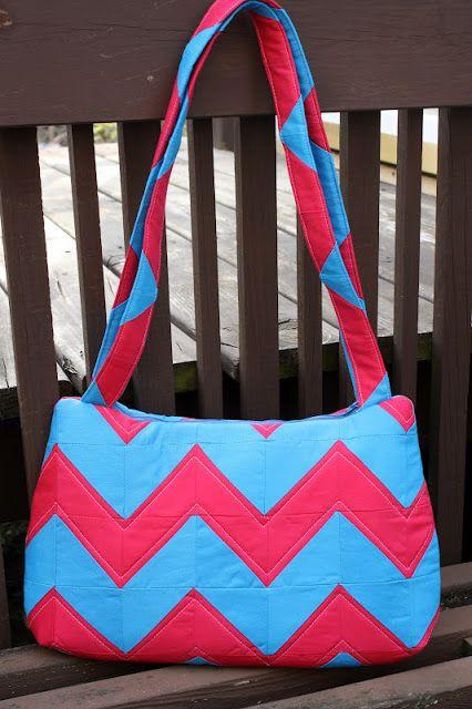 Sew Sweetness: The Underwater Stripes Bag