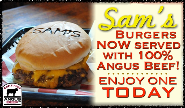 Sam's Burger Joint is a must to experience is visiting San Antonio, Texas! Live music, special events/theme nights, and kickass burgers!