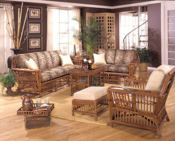 American Rattan Furniture, Sunroom Wicker Furniture Sets
