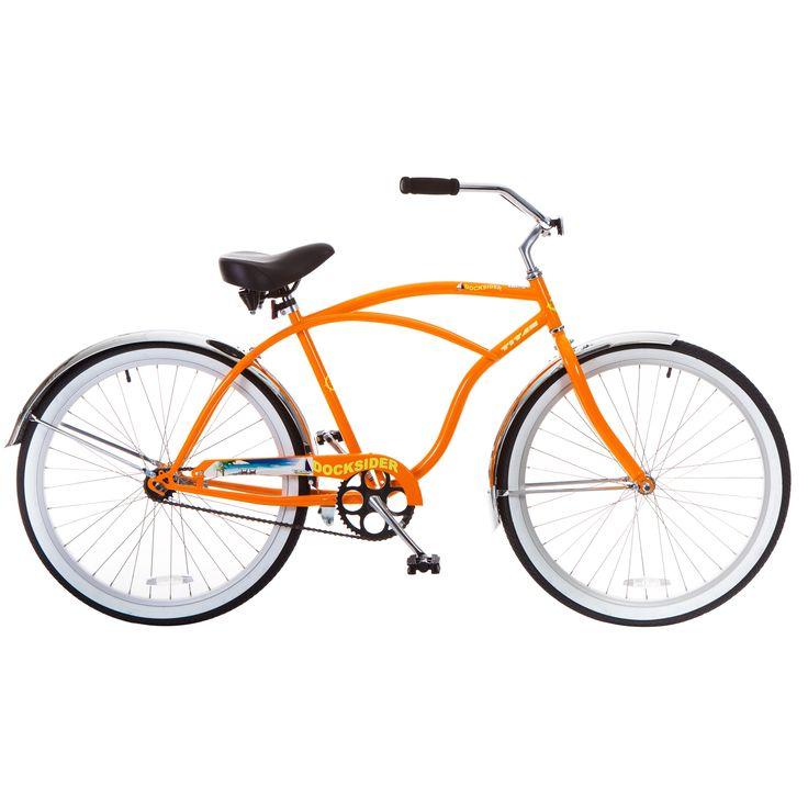 Titan Docksider Single-Speed Wheel Beach Cruiser Bicycle