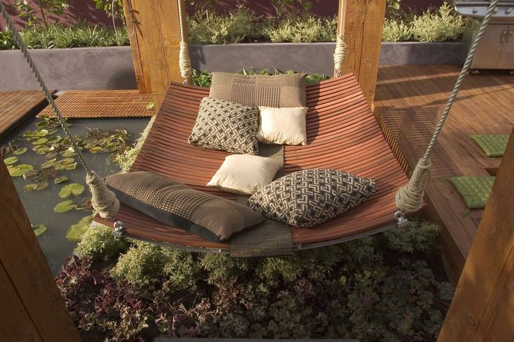 17 best images about hammock ideas on pinterest hanging for Jamie durie garden designs