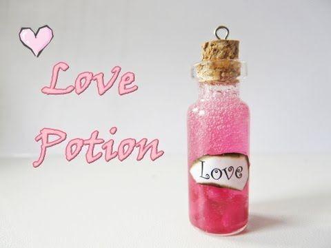 Love Potion Bottle Charm - YouTube