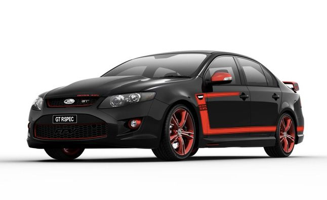 Ford Falcon FPV GT RSPEC is Like a 4-Door Boss Mustang. For more, click http://www.autoguide.com/auto-news/2012/08/ford-falcon-fpv-gt-rspec-is-like-a-4-door-boss-mustang.html