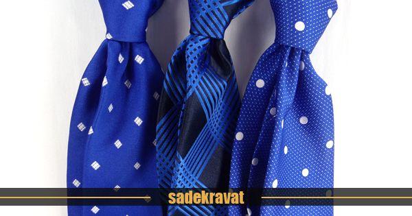 Baharın gelişini müjdeleyen en yeni saks mavi kravatlar www.sadekravat.com da