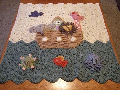 noahs ark afgan by onycha, would love to make this for the Grandbaby.