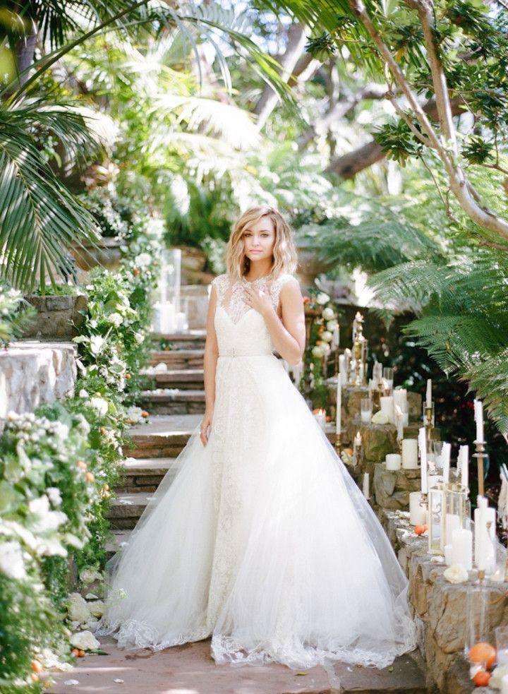 Wedding dress idea; photo: Rebecca Yale Photography