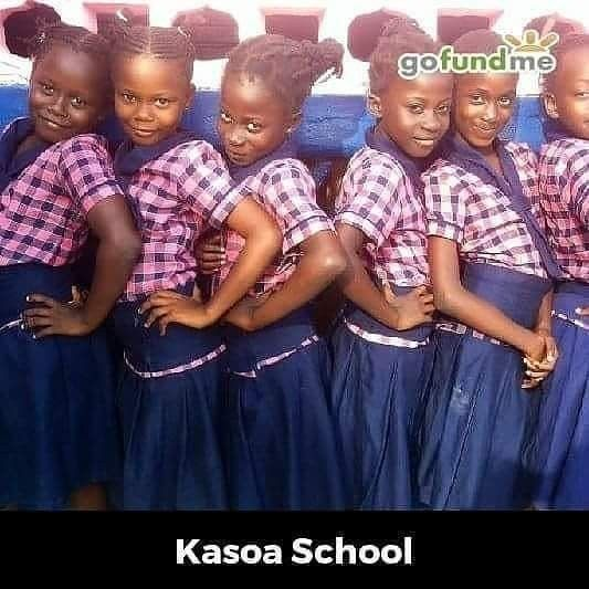 #Gofundmekasoaschool  #Kasoaschoolofexcellence  #30dollarsfor500students1000donations  A $30 donation to GofundmeKasoschool will assist 500 students in their school renewal project ... 1000 donors requested  ....