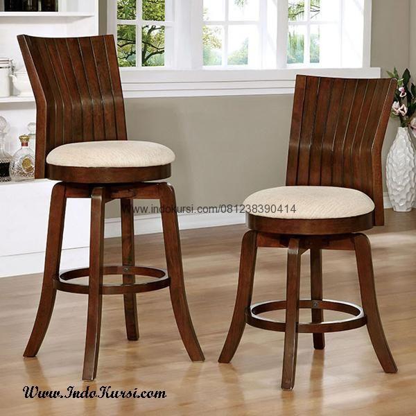 JualKursi Bar Minimalis Lengkung IK KB-030merupakan Produk Furniture Cafe Bar dengan desain Modern Kursi Bar Model Kursi Bar Model Modern Untuk Rumah Cafe