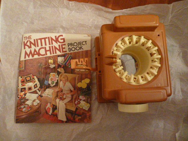 Knitting Nancy Machine : Vintage mattel knitting machine and the