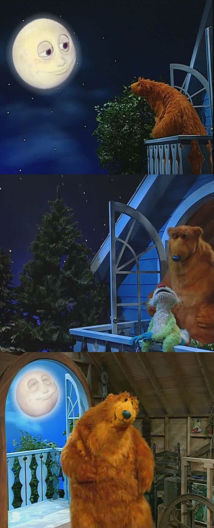 70 best bear in the big blue house images on pinterest big blue