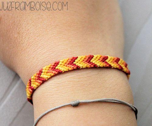tuto diy bracelet brésilien