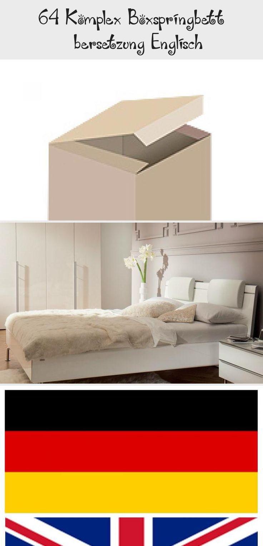 64 Komplex Boxspringbett Ubersetzung Englisch Babyzimmerlandhaus In 2020 Decor Home Decor Furniture