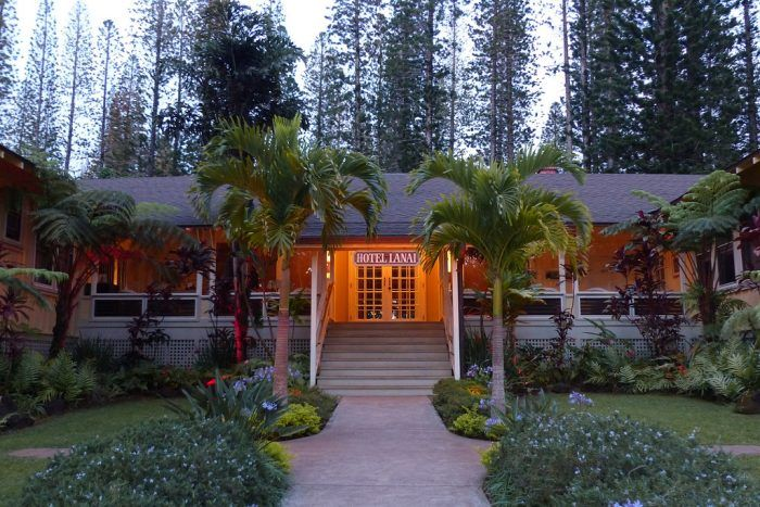 """Dubbed """"Hawaii's best little inn,"""" the Hotel Lanai is unbelievably quaint with just 11 rooms, an innovative restaurant - the Lanai City Grille - and plenty of charm."""