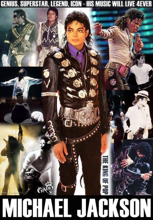♥ MICHAEL JACKSON ♥ MJ BAD ERA WALLPAPER/POSTER ♥