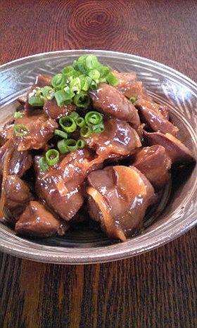 にんにく&生姜de鶏レバーの味噌煮
