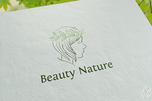 Beauty Nature - Logo Template by GoldenCreative on @creativemarket