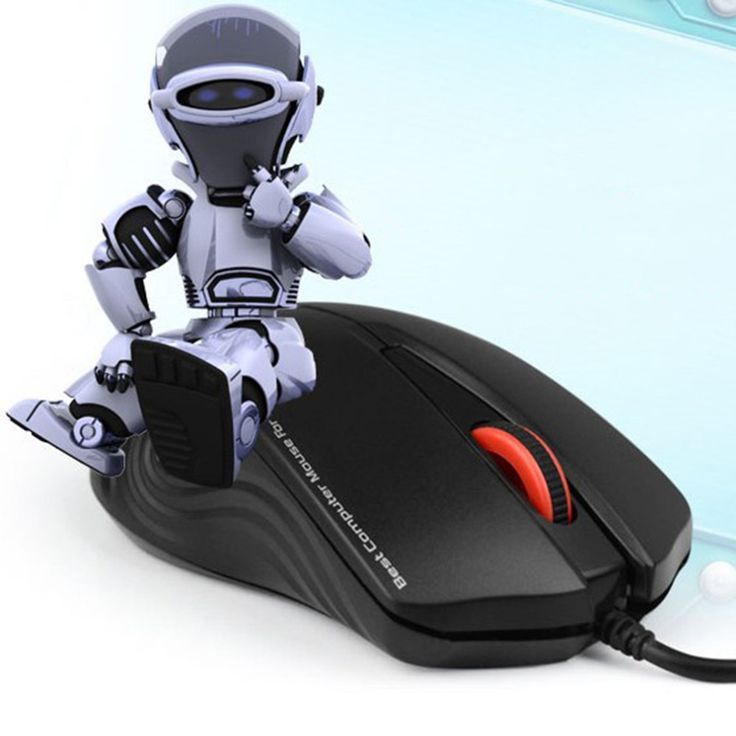 V-1000 Ergonimic Anti-Slip Design USB Wired Computer PC Mouse Lightweight Optical Desktop Laptop PC Mouse Accessory #Affiliate
