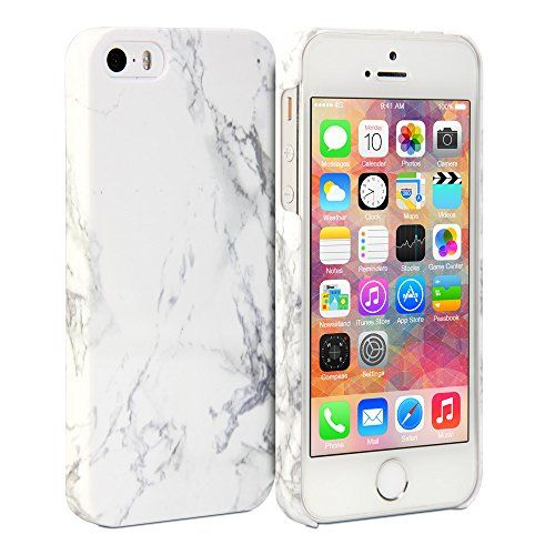 iPhone 5S Case, GMYLE Cover Case Print Crystal for iPhone 5 / iPhone 5S - White Marble Pattern Slim Fit Snap On Protective Hard Shell Back Case GMYLE http://www.amazon.com/dp/B00XBX8NP2/ref=cm_sw_r_pi_dp_XcsRvb13W4X8V