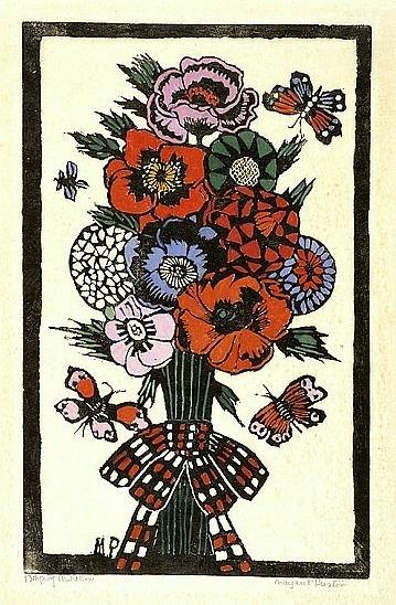 Margaret Preston | Plaid Box, 1928 I have had this for years, a reprint of course