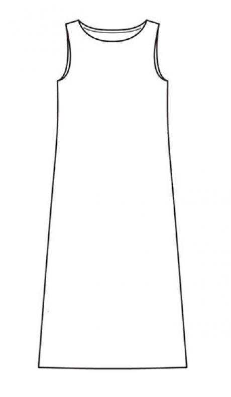 Tres modos de coser el vestido veraniego sin patrón — las Clases ...