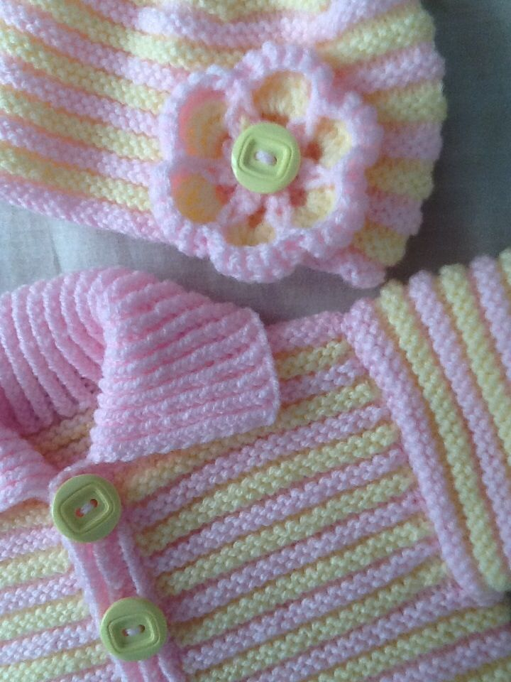 Lemon and pink set