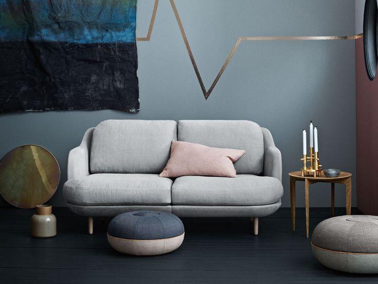 Fritz Hansen Lune Two Seater Sofa by Jaime Hayon - Chaplins