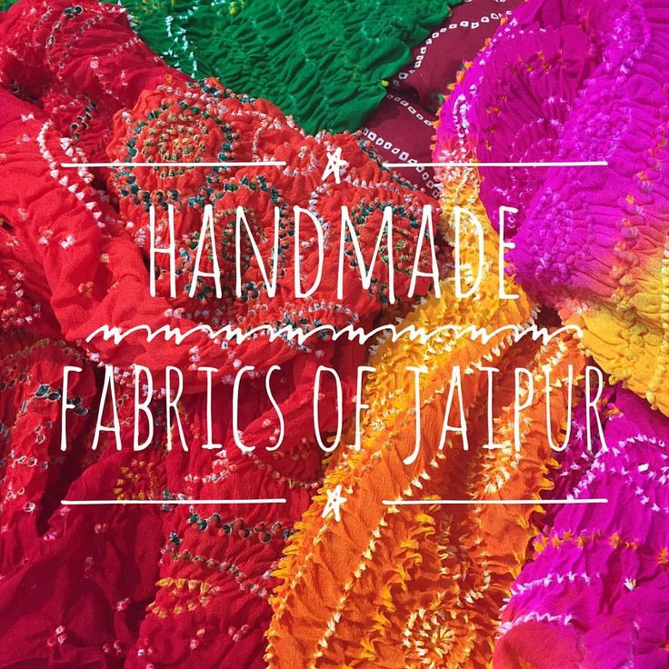 """""""New blog story featuring handmade fabrics of Jaipur - The fabric capital of India! - link in bio -…"""""""