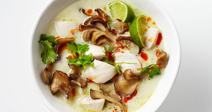 Tom Kha Gai (Chicken Coconut Soup) - Bon Appétit