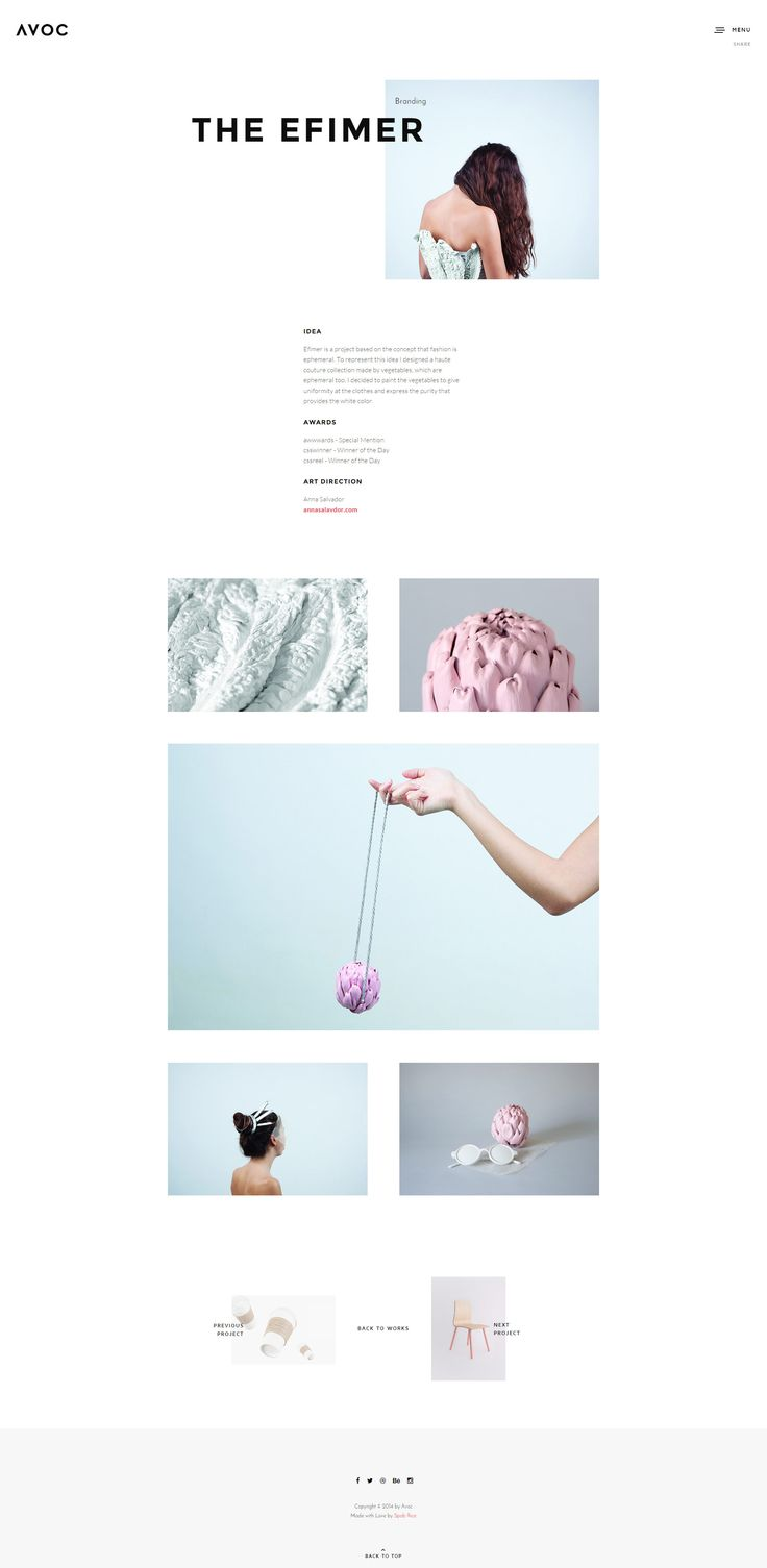 avoc-minimal-portfolio-agency-template