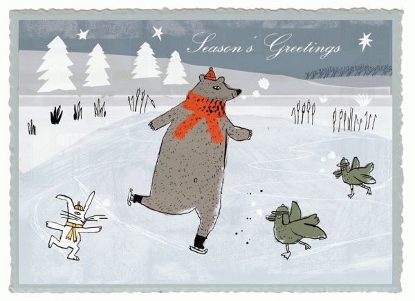 Season's Greetings by Philippe de Kemmeter, via Behance
